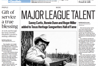 Texas Heritage Songwriters' Association featured in the Austin American-Statesman